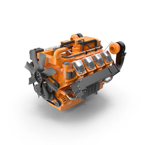 V8 Truck Engine PNG & PSD Images