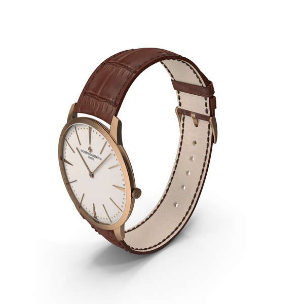 Vacheron Constantin Patrimony Watch Pink Gold PNG & PSD Images