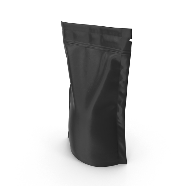 Vacuum Sealed  Bag Black Object