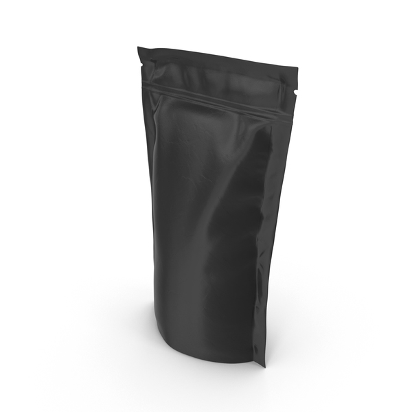 Vacuum Sealed  Bag Black PNG & PSD Images