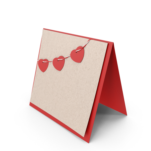 Valentine's Card PNG & PSD Images
