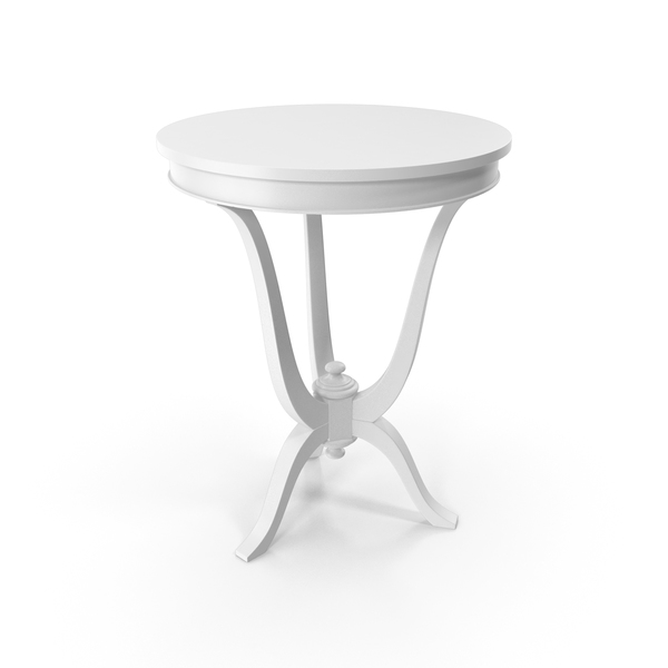 Vaniglia Venetta Side Table Round PNG & PSD Images