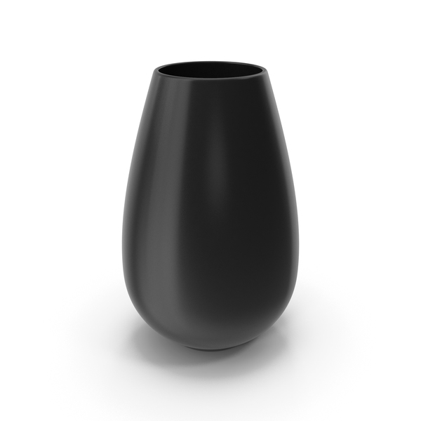 Vase Black PNG & PSD Images