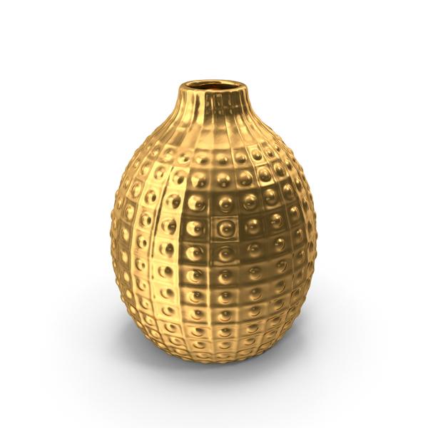 Vase Decoration Gold PNG & PSD Images