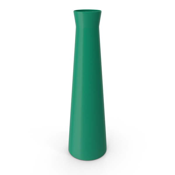 Vase Glossy Green PNG & PSD Images