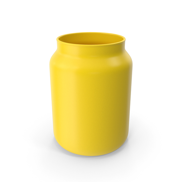 Vase Yellow PNG & PSD Images