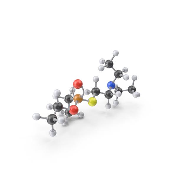 VE Nerve Agent Gas Molecule PNG & PSD Images
