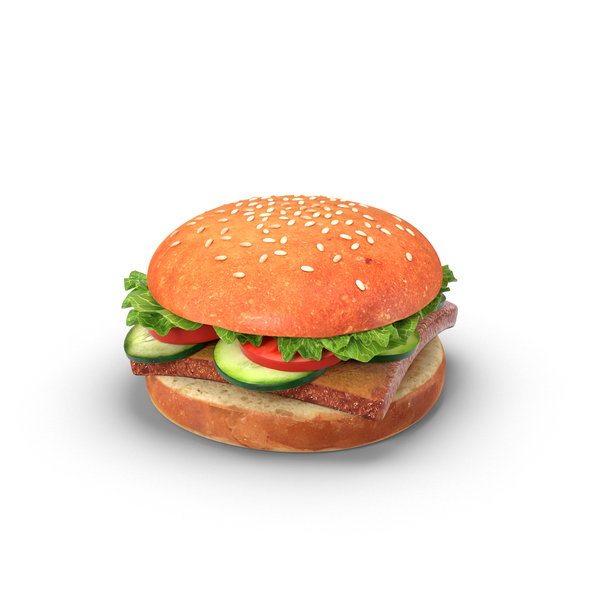 Veggie Burger PNG & PSD Images