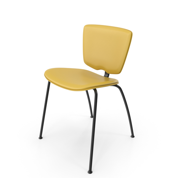 Vekatop Talin 20 Yellow Side Chair PNG & PSD Images