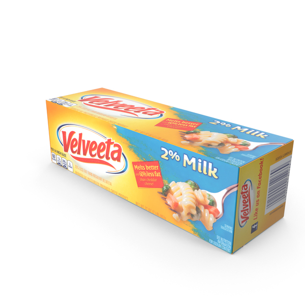 Velveeta 2 Percent Milk Cheese PNG & PSD Images