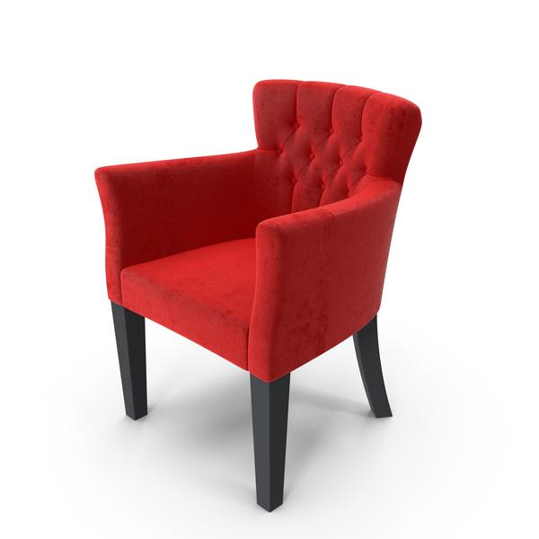 Arm Chair: Velvet Armchair PNG & PSD Images