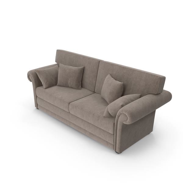 Velvet Classic Sofa PNG & PSD Images