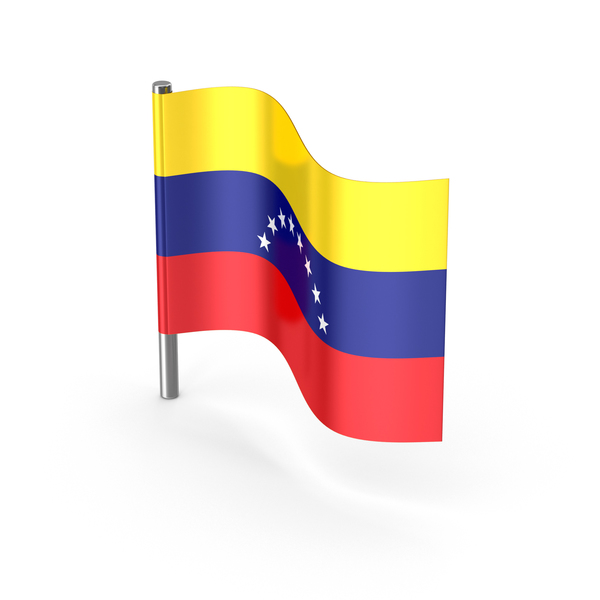 Venezuela Cartoon Flag PNG & PSD Images