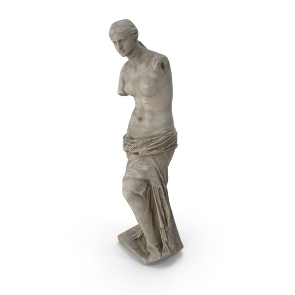 Venus De Milo Colored PNG & PSD Images