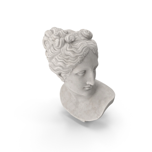 Venus Italica Bust PNG & PSD Images