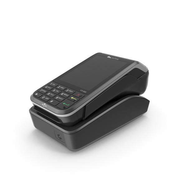 Veriphone VX 690 Payment Terminal PNG & PSD Images