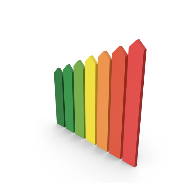 Bar Graph: Vertical Graphic Bars PNG & PSD Images