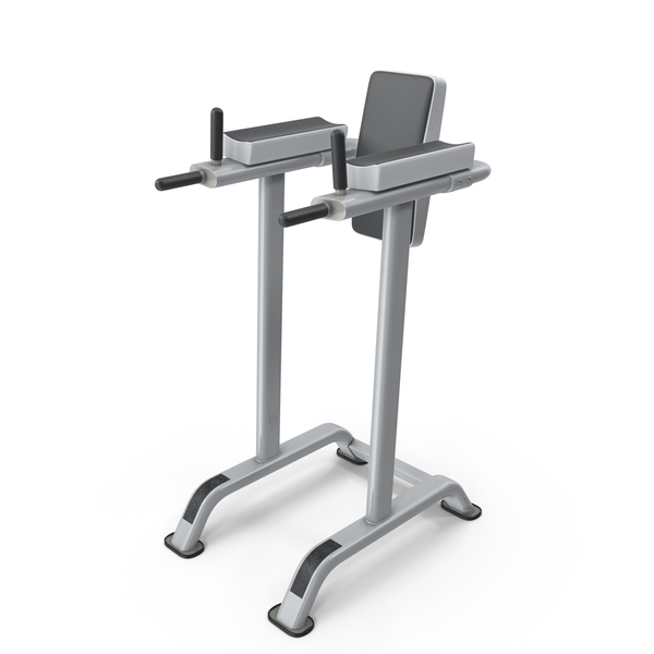 Exercise Equipment: Vertical Knee Raise PNG & PSD Images