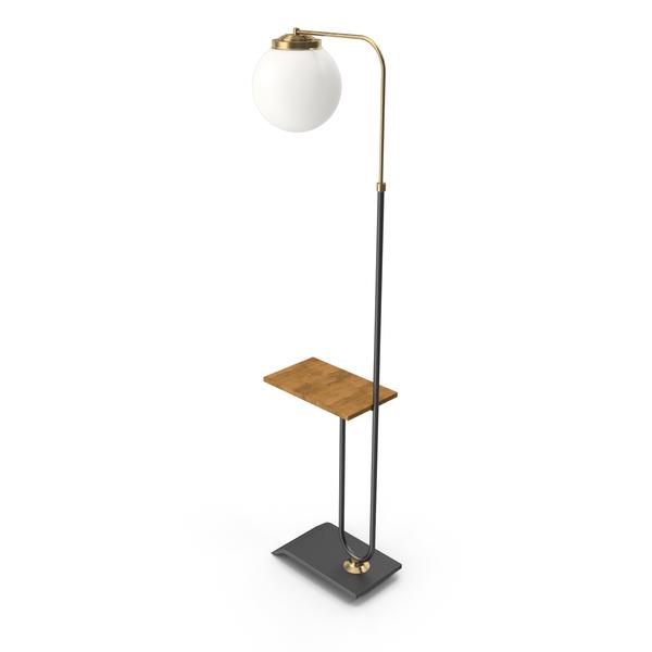 Vertigo Arc Floor Lamp PNG & PSD Images