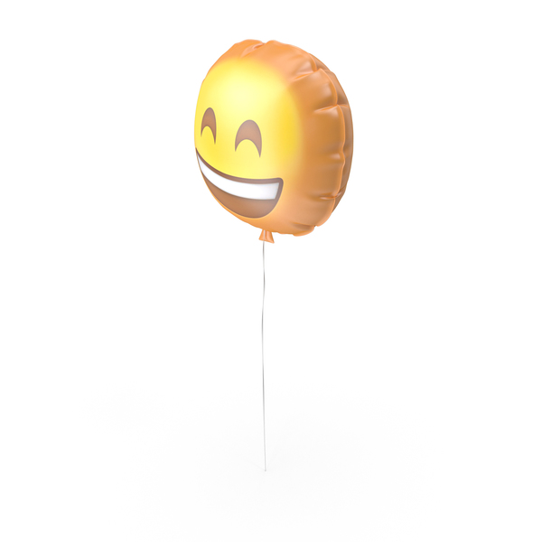 Very Happy Emoji Balloon PNG & PSD Images