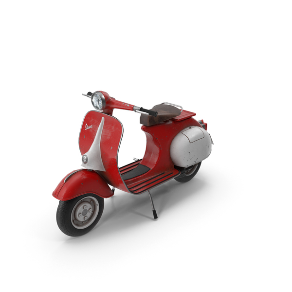 Motor: Vespa Scooter PNG & PSD Images