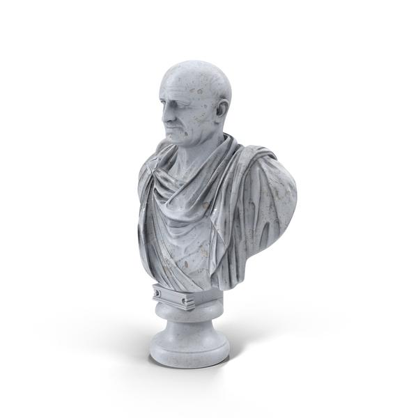 Bust: Vespasian PNG & PSD Images
