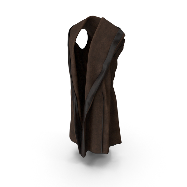 Vest Cloak with Hood PNG & PSD Images