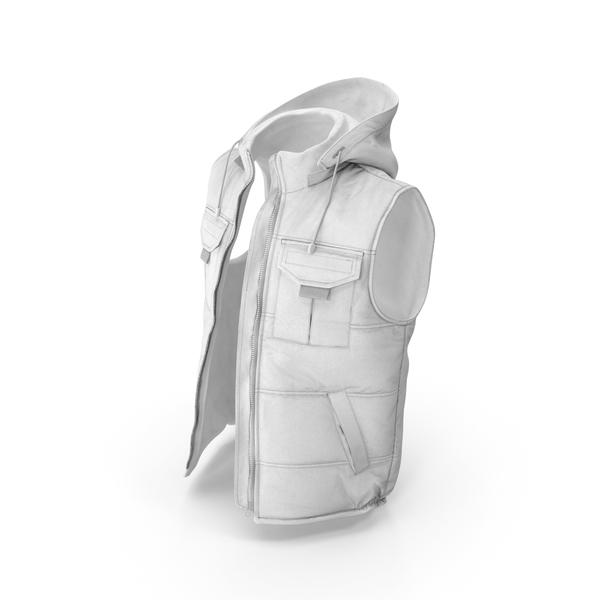 Vest White PNG & PSD Images