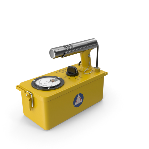 Victoreen CDV 700 Classic Civil Defence Geiger Counter PNG & PSD Images