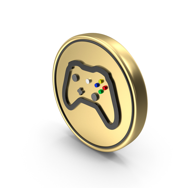 Video Game Play Coin Logo Icon PNG & PSD Images
