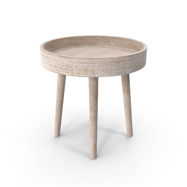 Vinta Side Table PNG & PSD Images