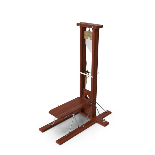 Vintage 19th Century French Guillotine PNG & PSD Images