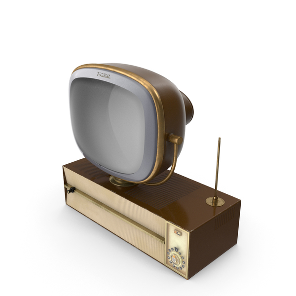 Vintage Adjustable TV Stand PNG & PSD Images