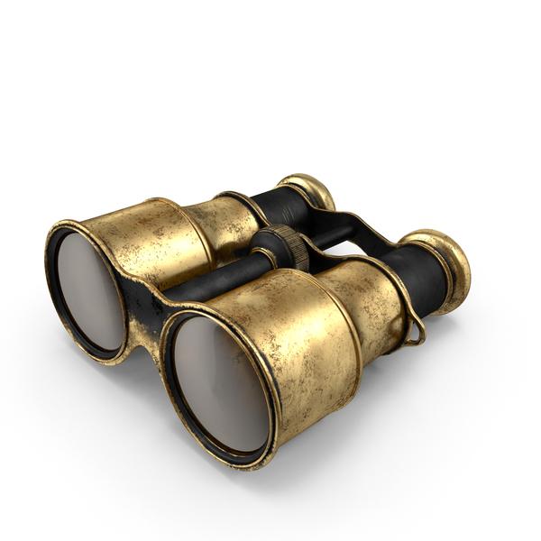 Vintage Binoculars PNG & PSD Images