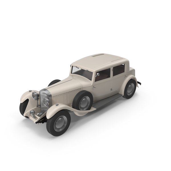 Vintage Car Cream PNG & PSD Images