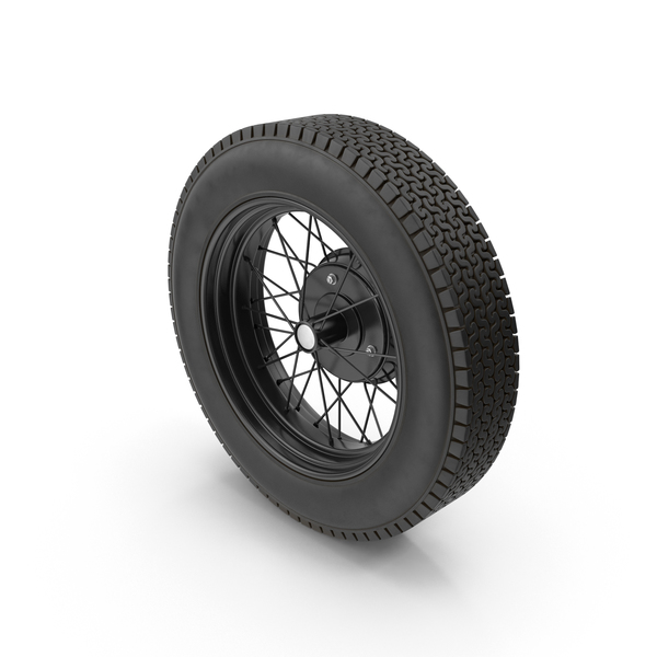 Vintage Car Wheel PNG & PSD Images