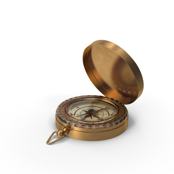 Vintage Compass Open PNG & PSD Images