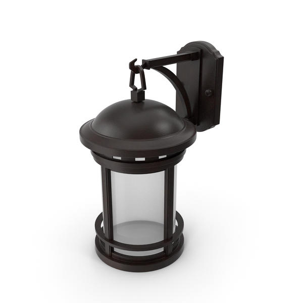 Sconce: Vintage Decorative Street Wall Lantern PNG & PSD Images