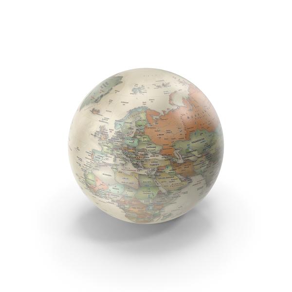 Vintage Earth Globe PNG & PSD Images