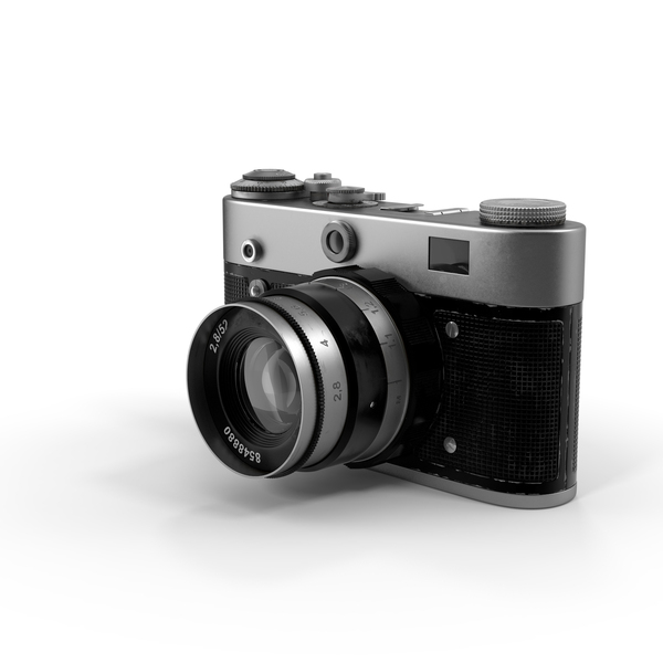 Vintage Film Camera PNG & PSD Images