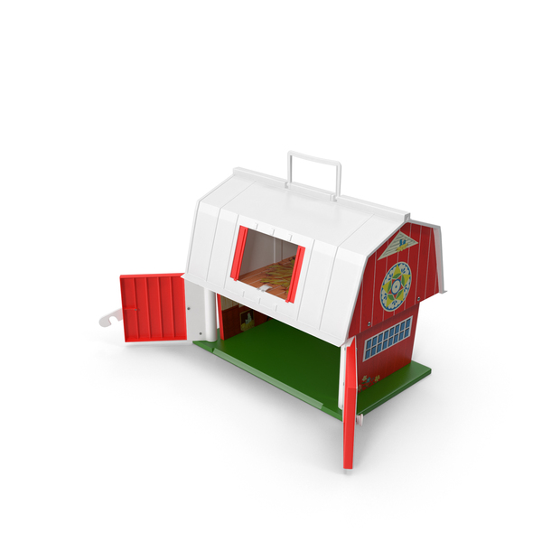 Vintage Fisher Price Barn PNG & PSD Images