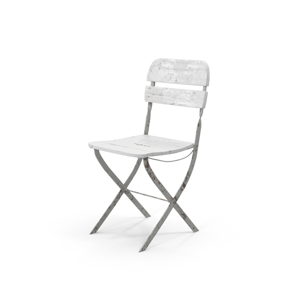 Vintage Folding Chair PNG & PSD Images