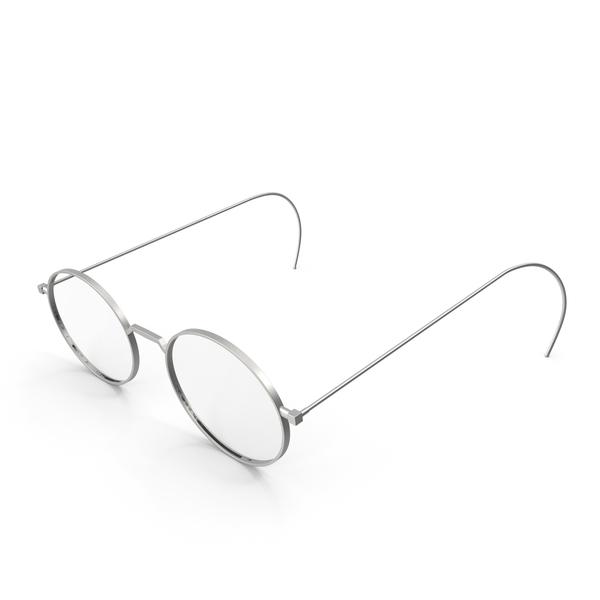 Reading: Vintage Glasses PNG & PSD Images
