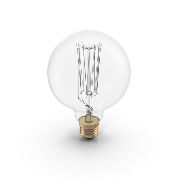 Vintage Light Bulb PNG & PSD Images