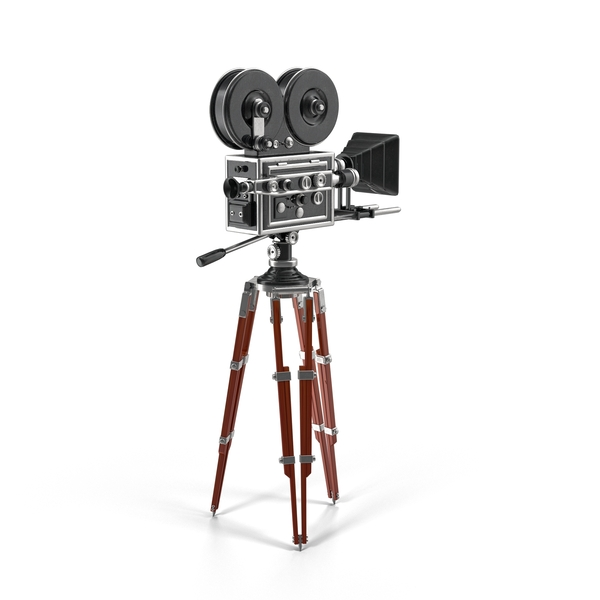 Vintage Movie Camera PNG & PSD Images