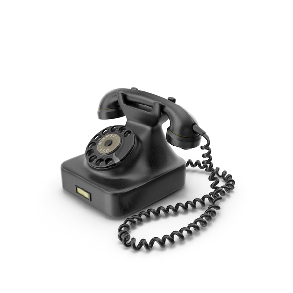 Rotary: Vintage Phone PNG & PSD Images