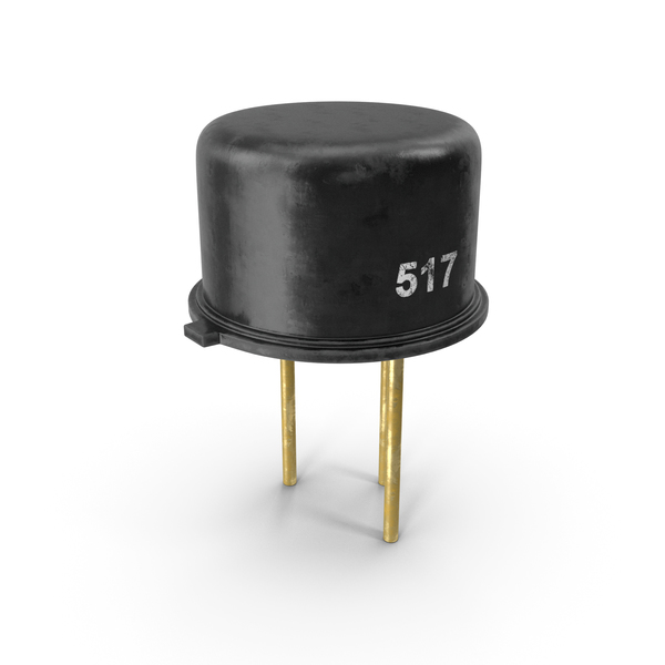 Vintage PNP Silicon Planar Transistor PNG & PSD Images