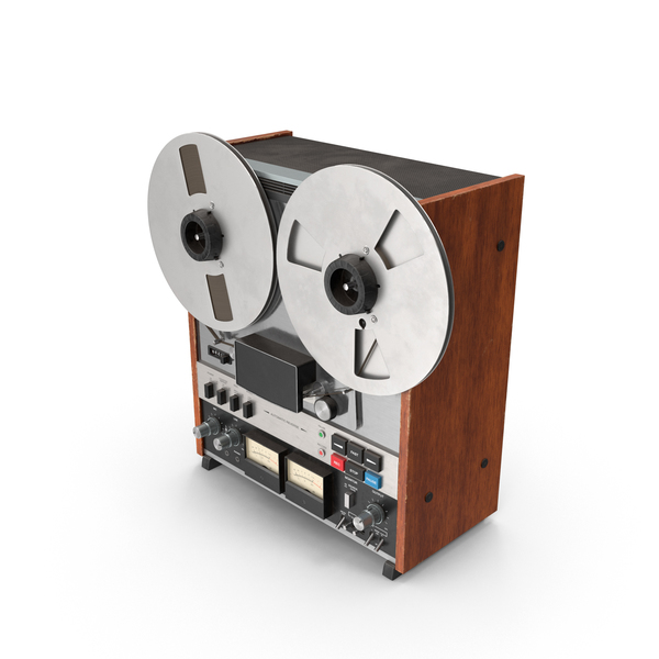 Vintage Reel-to-Reel PNG & PSD Images