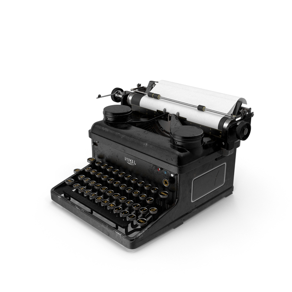 Vintage Royal Typewriter PNG & PSD Images