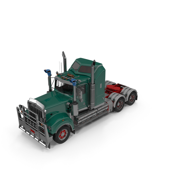 Vintage Semi-Truck PNG & PSD Images
